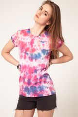 ASOS Collection Asos T-shirt in Multi Tie-dye - Lyst