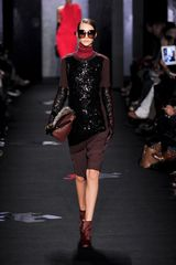 Diane Von Furstenberg Fall 2012 Brown Glossy Ankle Boots in Brown - Lyst