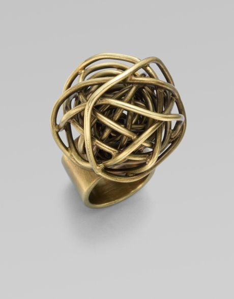 Kelly Wearstler Knot Ring in Gold