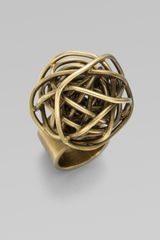 Kelly Wearstler Knot Ring in Gold - Lyst
