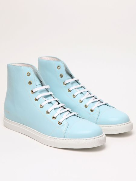 Marc Jacobs Mens Classic High Top in Blue for Men - Lyst