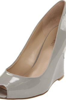 Nine West Womens Ampedup Wedge Pump - Lyst