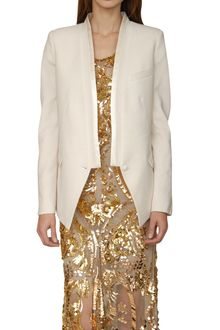 Roberto Cavalli Cool Wool and Silk Jacket - Lyst