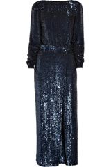 3.1 Phillip Lim Sequined Silk-chiffon Jumpsuit - Lyst