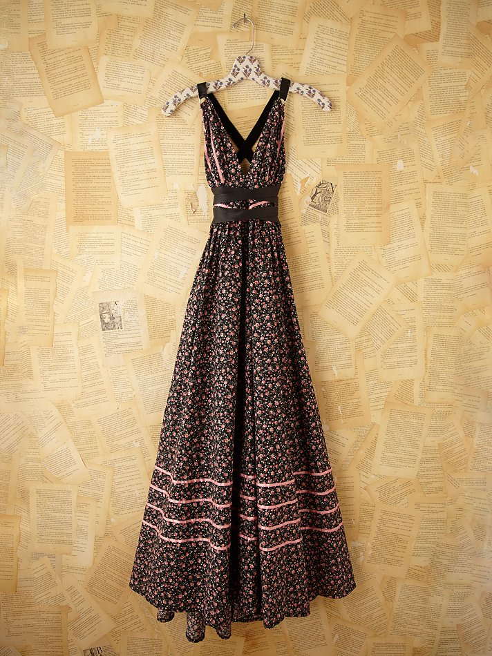 Lyst Free People Vintage Gunne Sax Dress In Black
