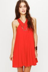 Free People Fp One Twiggy Embellished Dress - Lyst