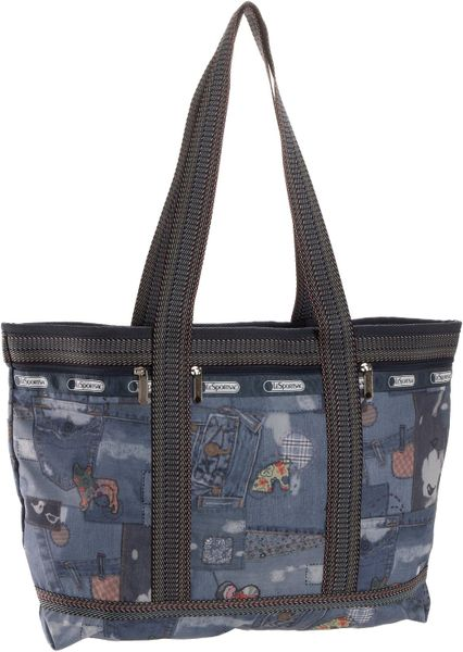 Lesportsac Travel Tote in Blue (blue jeans) - Lyst