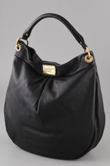 Marc By Marc Jacobs Classic Q Huge Hillier Hobo in Black - Lyst
