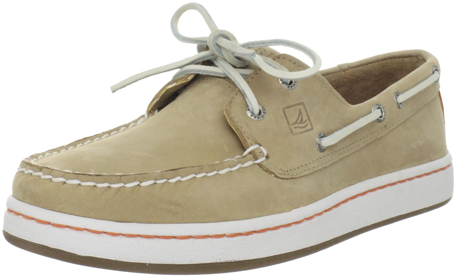 Sperry TopSider  Beige Sperry Topsider Mens Sperry Cup Boat Shoe for