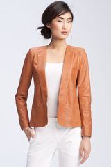 Theory Frema - L. Freehold Structured Leather Blazer - Lyst