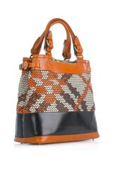 Burberry Prorsum Hepburne Orange Ochre Bag in Orange - Lyst