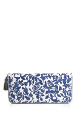 Dvf 1974 Zip Around Wallet - Lyst