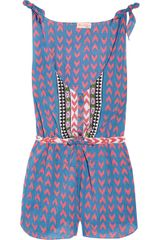 Mara Hoffman Cotton-voile Playsuit