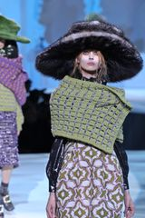 Marc Jacobs Fall 2012 Wool Stoles In Green  - Lyst