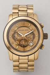 Michael Kors Runway Chronograph Watch - Lyst