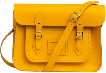 ModCloth Upwardly Mobile Satchel in Yellow - Lyst