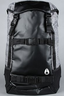 Nixon The Landlock Backpack in Black Wash - Lyst