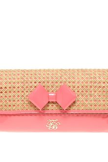 Ted Baker Galar Straw Clutch Bag - Lyst