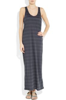 Zimmermann Memoir Striped Cotton-blend Maxi Dress - Lyst