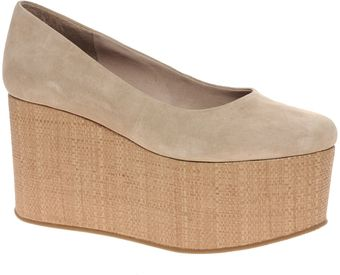 ASOS Collection Asos Valentine Suede Flatform Shoes - Lyst