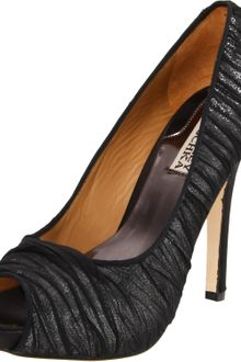 Badgley Mischka Womens Star Open Toe Pump - Lyst