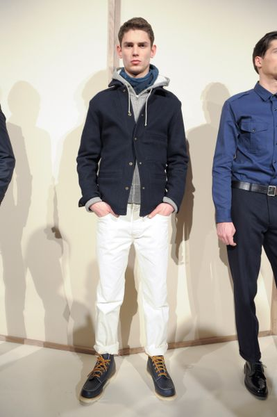 J.crew Fall 2012 White Chino Pants in White for Men - Lyst