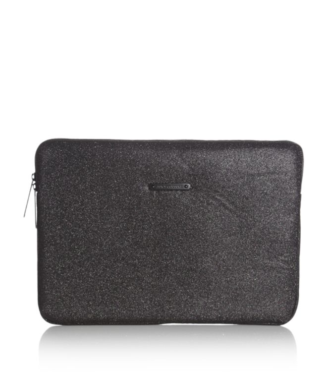 Juicy Couture Glitter Laptop Case in Black - Lyst 6ebaeafff095