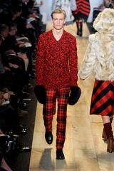 Michael Kors Fall 2012 Tartan Full-Length Straight- Leg Pants - Lyst