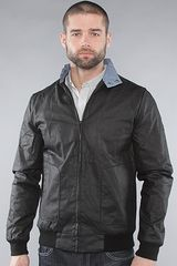 Nixon The Trapper Jacket in Black in Black for Men - Lyst