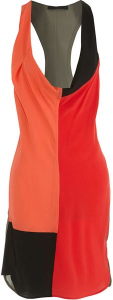 Alexander Wang Color Block Swimsuit Dress - Lyst
