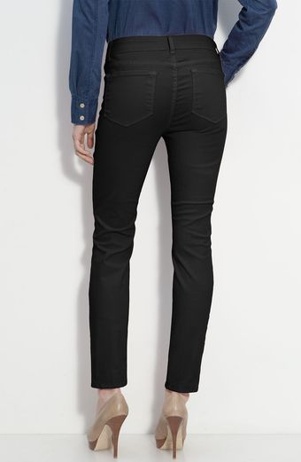 Blue Essence Skinny Twill Ankle Jeans Nordstrom Exclusive - Lyst