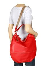 Furla Montmartre Large Hobo in Red (r) - Lyst