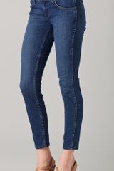 J Brand Peyton Low Rise Pencil Leg Jeans - Lyst