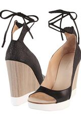 Jil Sander Wedge Sandals - Lyst