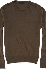 Joseph Rollneck Sweater in Green for Men (olive) - Lyst