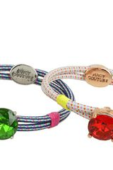 Juicy Couture Corded Elastic Hair Ties - Lyst