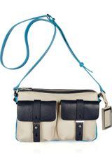 Marc By Marc Jacobs Werdie Color-block Leather Shoulder Bag - Lyst