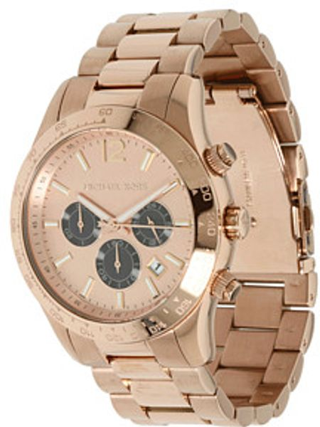 Michael Kors Rose Gold Watch in Pink (r) - Lyst