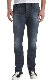Nudie Jeans Grim Tim -medium Blue - Lyst