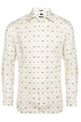 Paul Smith Slim Fit Floral Shirt - Lyst