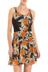 Proenza Schouler Floral Dress - Lyst