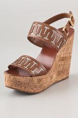 Tory Burch Regan Platform Sandals - Lyst