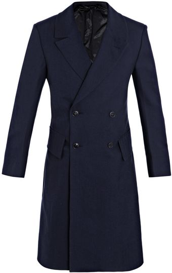 Yves Saint Laurent Canvas Patchwork Fabric Coat - Lyst