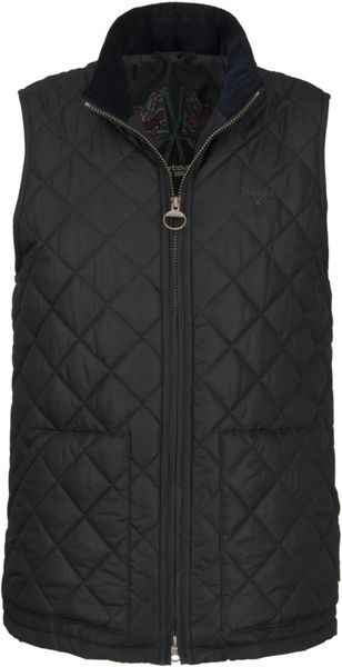 Barbour Bosun Quilted Gilet In Black For Men Lyst