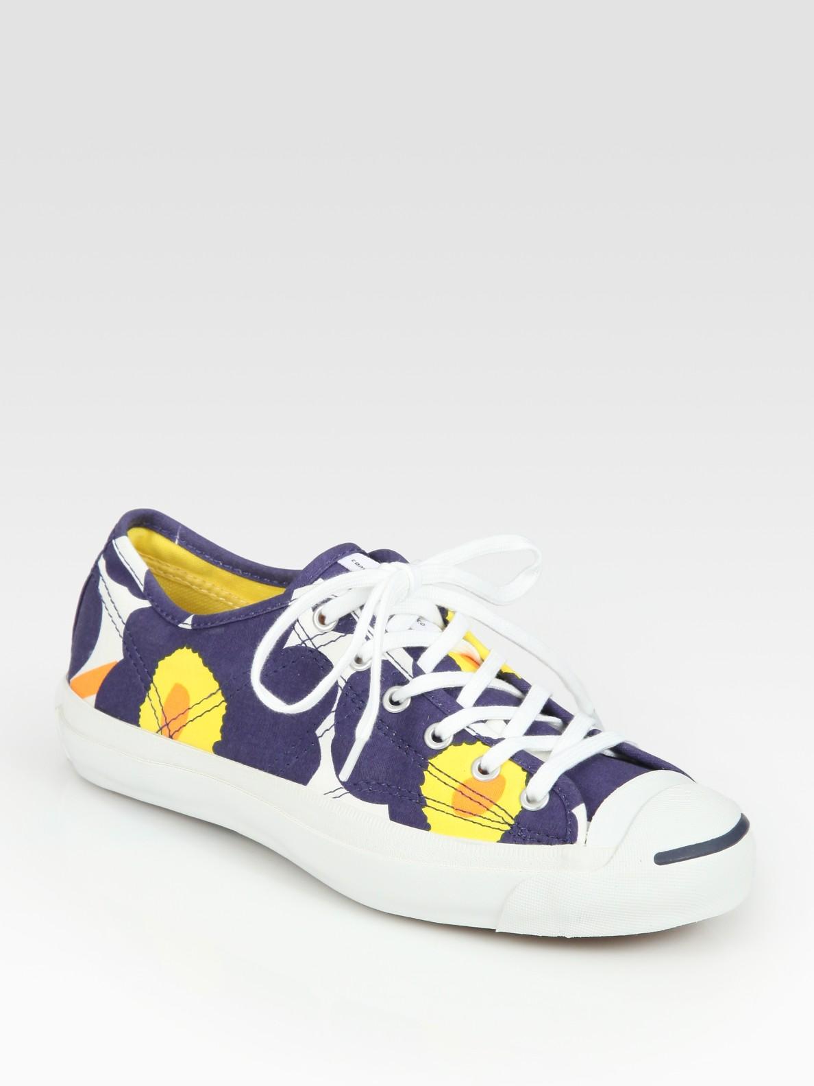 Lyst - Converse Chuck Taylor Marimekko Sneakers in Blue 46068364f