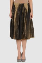 Donna Karan New York 34 Length Skirt - Lyst