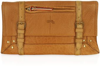 Jérôme Dreyfuss Leon - Brown Leather Clutch - Lyst