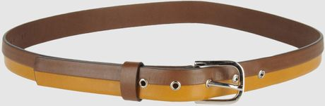Marni Belt in Khaki - Lyst