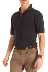 Ralph Lauren Purple Label Stretch Collar Polo - Lyst