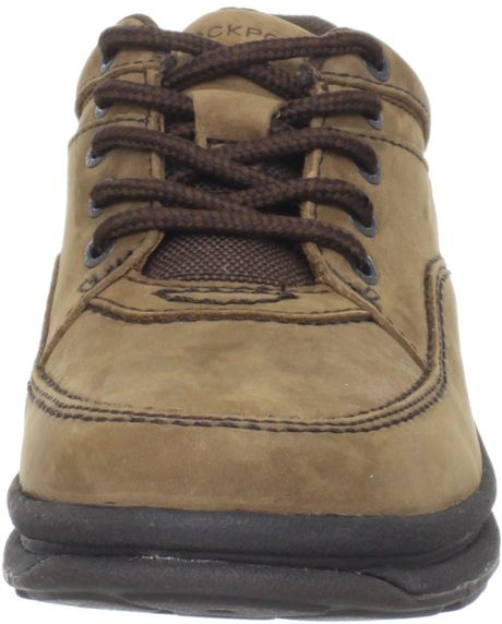Rockport Mens World Tour Classic Walking Shoe in Brown for Men